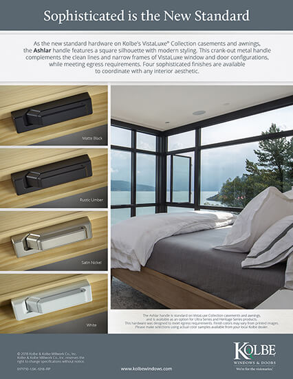 Download New Casement & Awning Ashlar Handles sell sheet