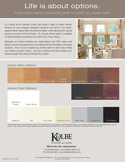 Download Interior Finish Options sell sheet