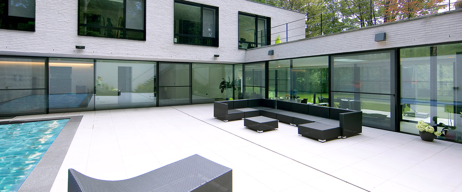 VistaLuxe AL LINE Hi-Finity Multi-Slide Doors Holsbeek3