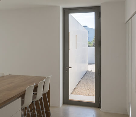 VistaLuxe AL LINE Swinging Patio Doors Buftea-Residence-14