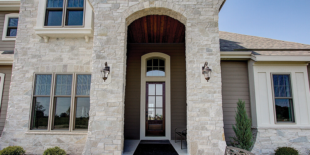 Round Off Your Entryway with an Arched Window AG243