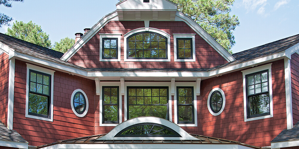 Frame Your Arched Windows with Pops of Color S3045