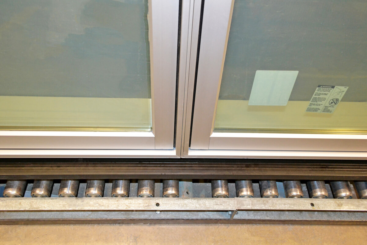 CS18-2 Crank-Out Casement with Door Sill