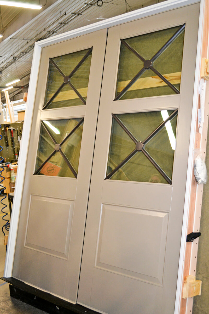 CS32-2 3-Tone Commercial Door with Custom PDL
