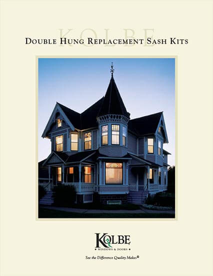 Download Replacement Double Hung Sash Kits sell sheet