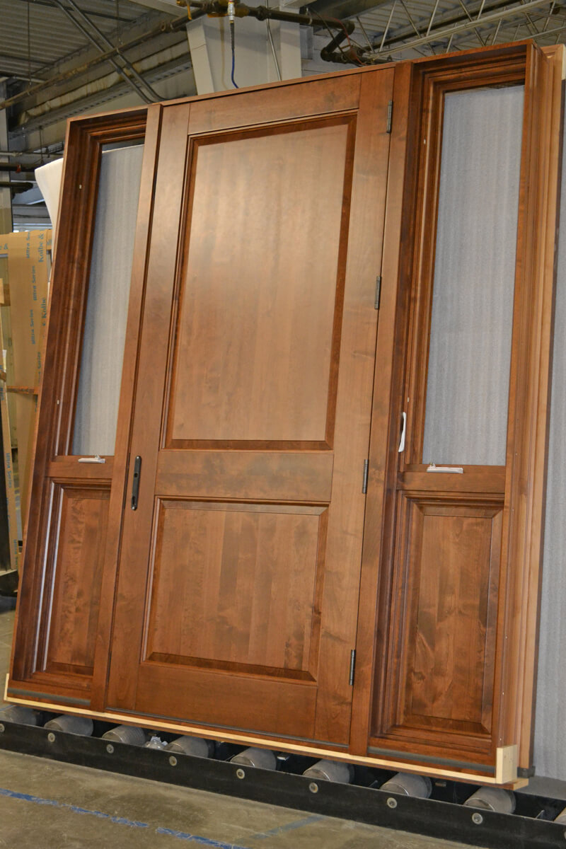 CS45-5 Alder Door with Operating Sidelites
