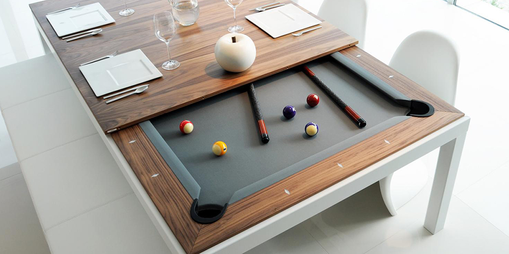 10 Inspiring Products Designed for Luxury and Function Pool Table
