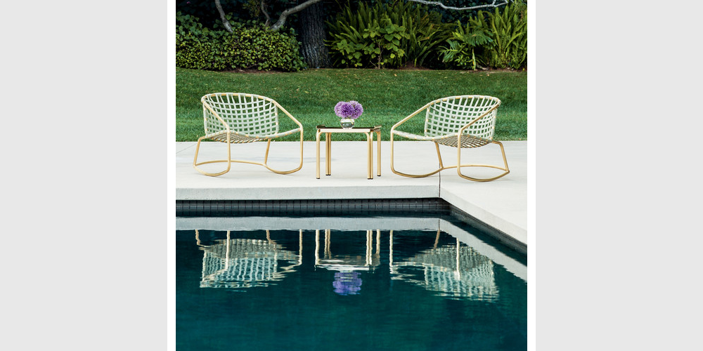 10 Inspiring Products Designed for Luxury and Function Poolside Chairs
