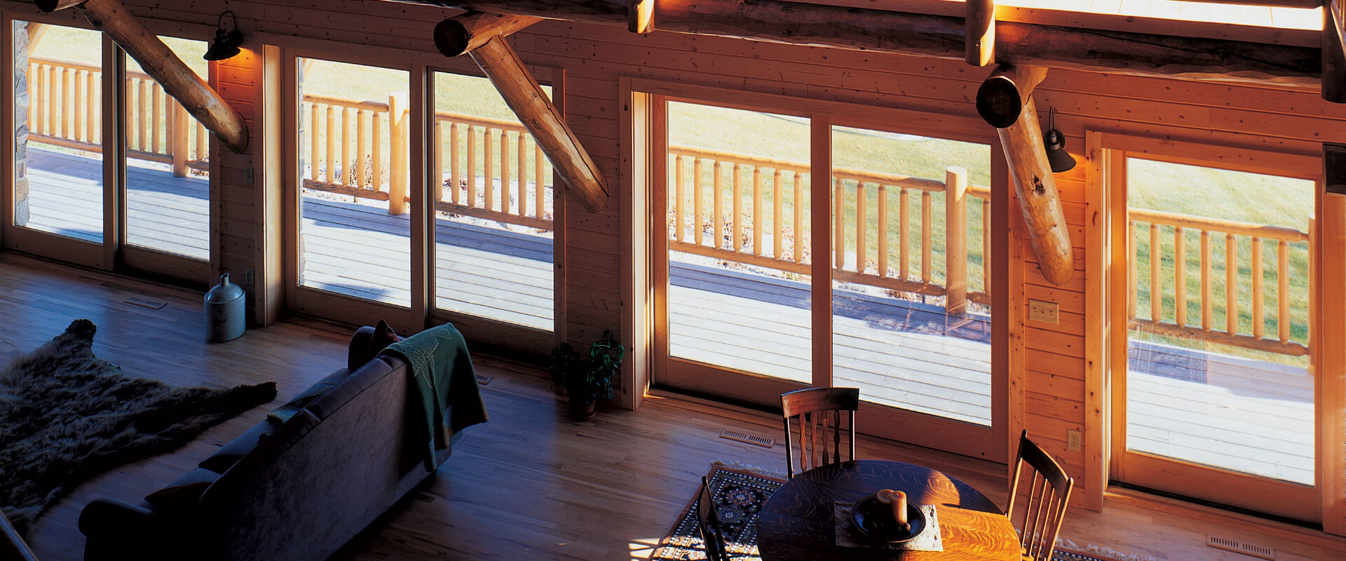 Heritage Series sliding patio doors.