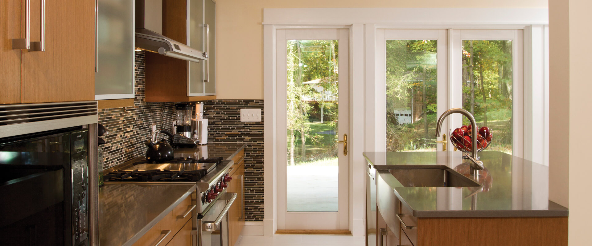Forgent Complementary Swinging Patio Doors Kolbe Windows