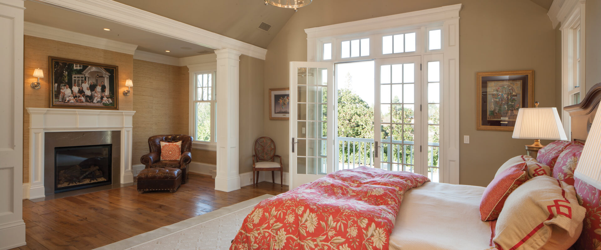 Heritage Swinging Patio Doors Interior