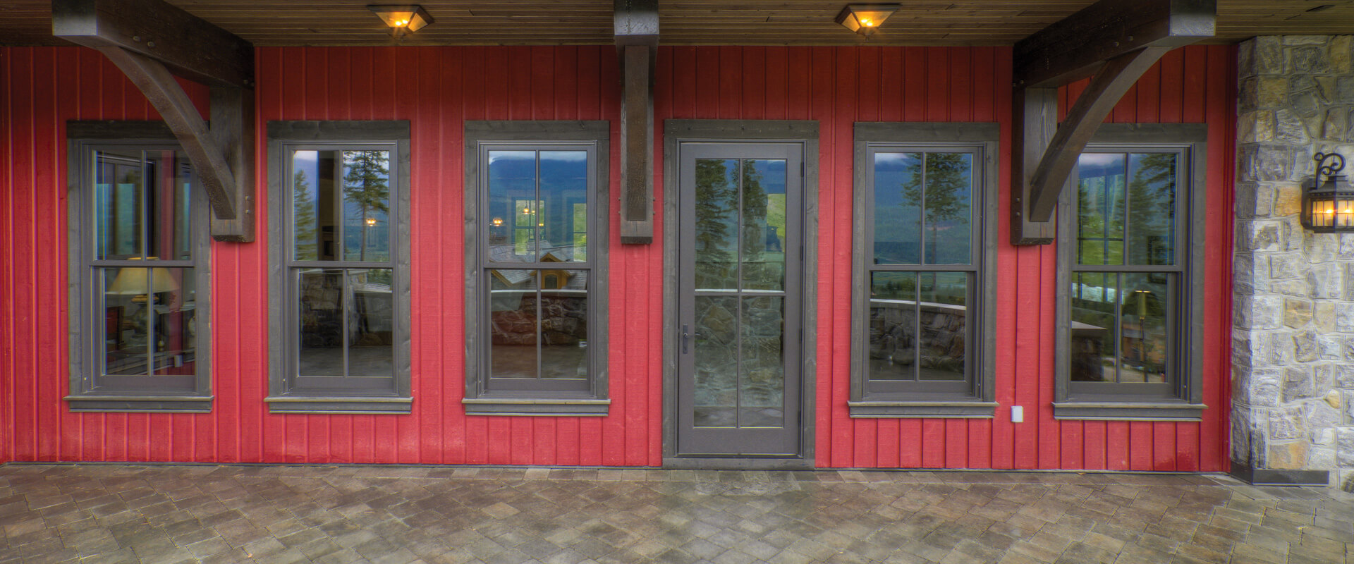 Ultra Swinging Patio Doors Exterior