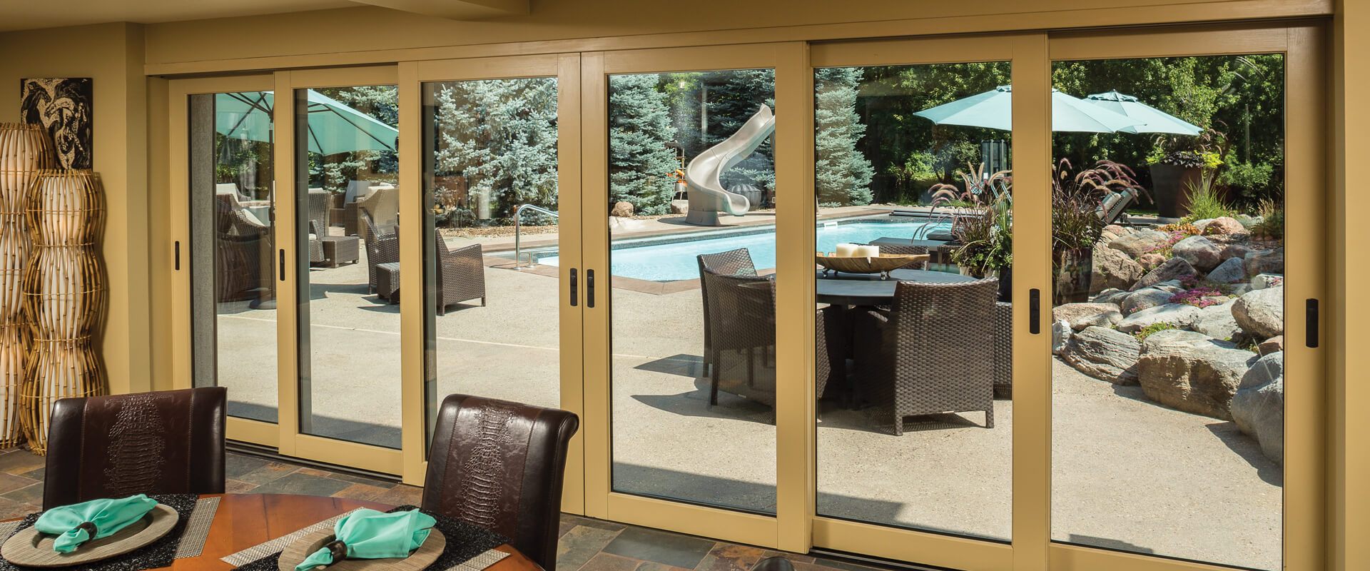 ultra terraspan lift u0026 slide doors interior