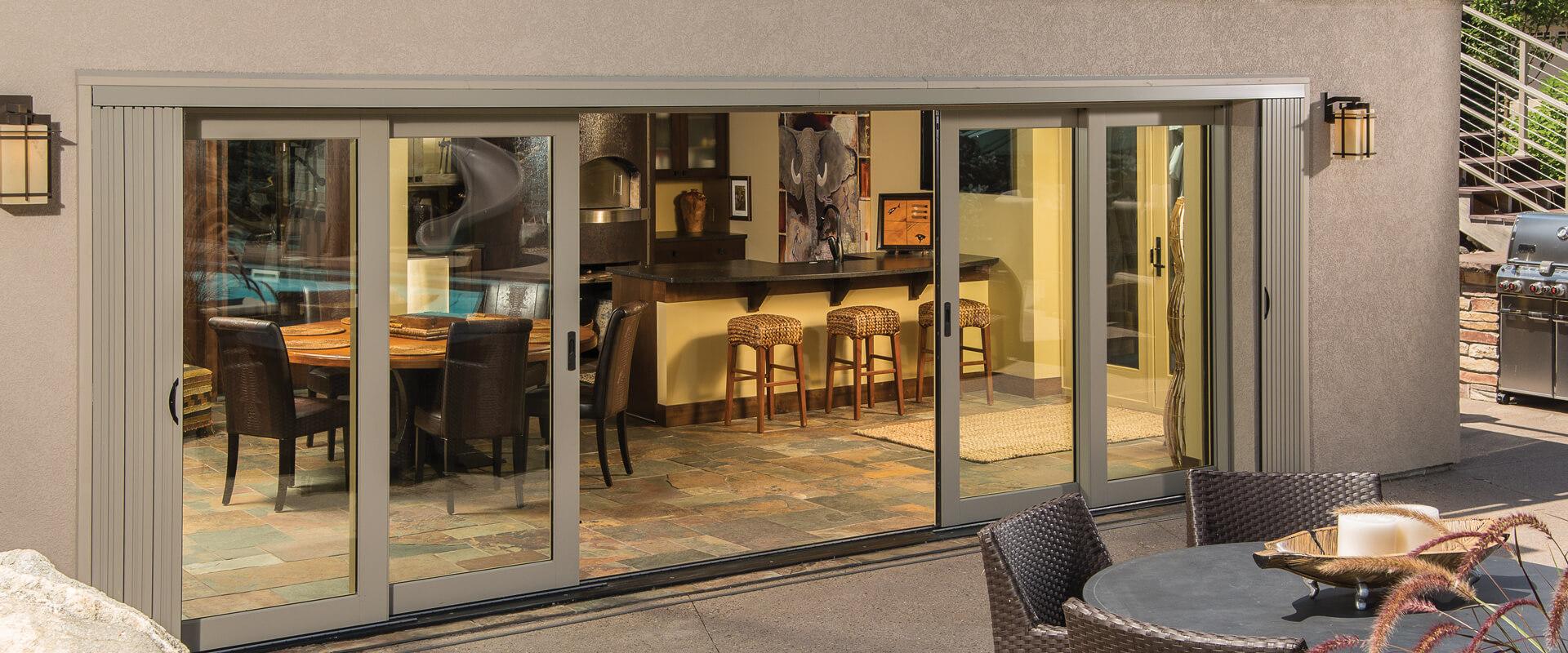 Ultra TerraSpan Lift \u0026 Slide Doors Exterior & Ultra Series Lift \u0026 Slide Doors | Kolbe Windows \u0026 Doors
