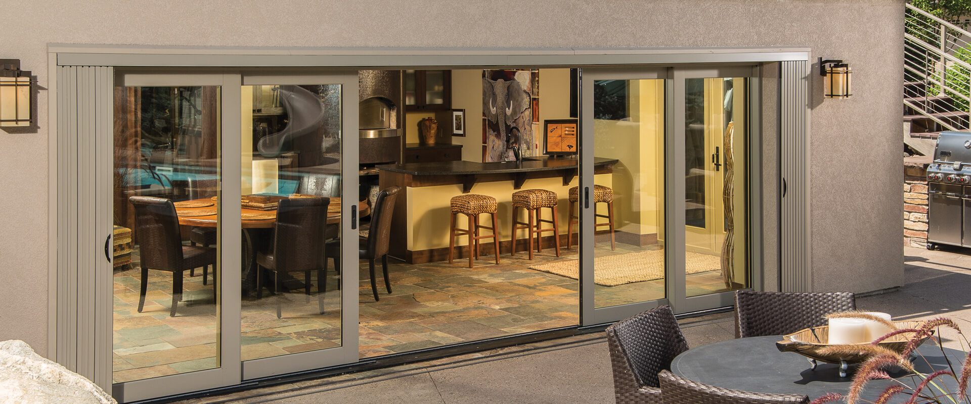 Ultra TerraSpan Lift & Slide Doors Exterior