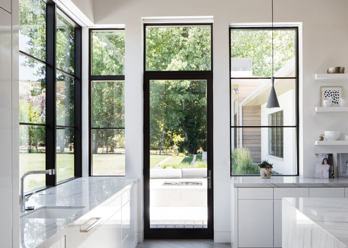Large expanses of glass : kolbe doors - pezcame.com