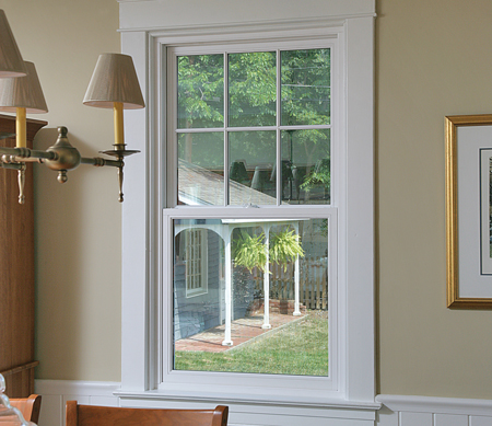 Ultra Series Replacement Pocket Double Hung With Divided Lites In The Top Sash