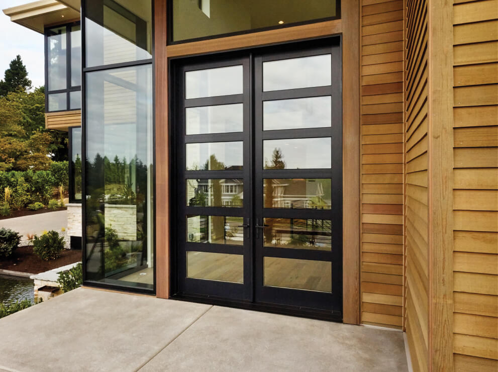 Ultra Series French entrance door with wide ided lites. & Entrance Doors | Kolbe Windows \u0026 Doors