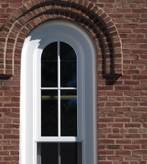 Heritage Double-Hung Exterior Day Brick