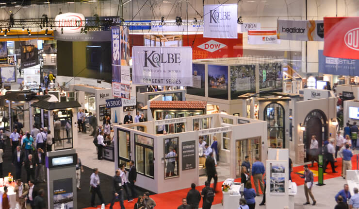 Kolbe at the 2017 International Builders' Show